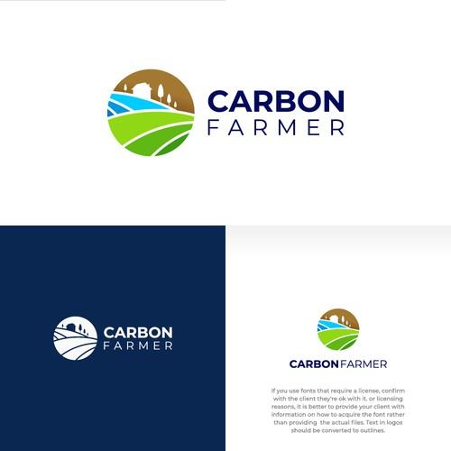Farm logo design concept