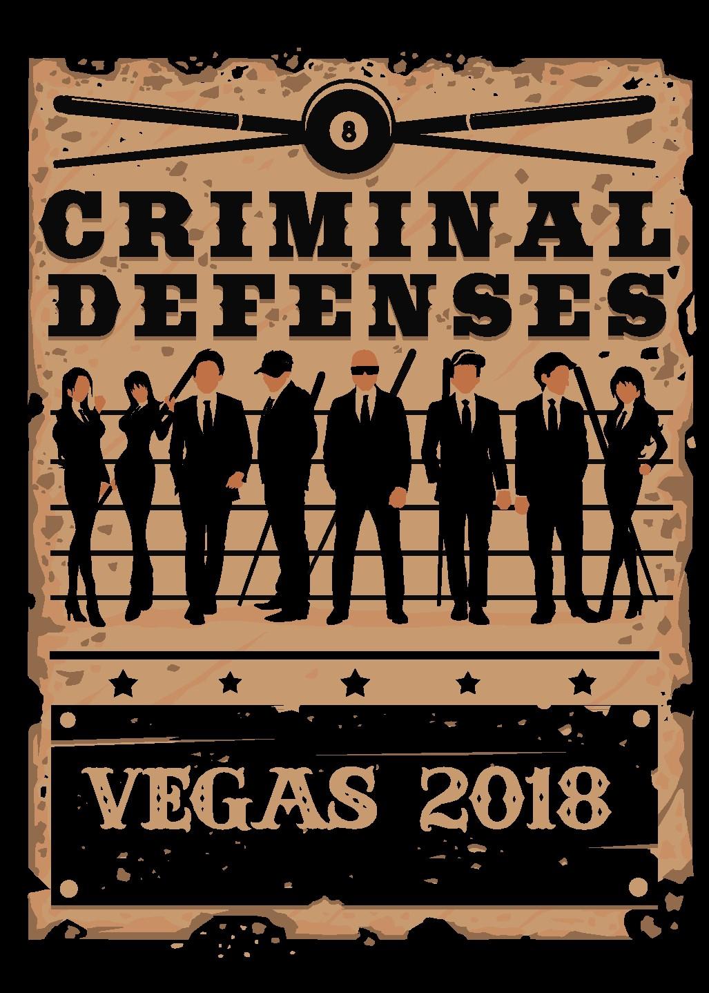 T Design!  Vegas!  Criminal Defenses! Screen