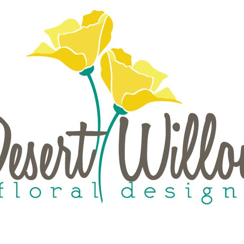 Come up with an inspiring design for a talented and passionate florist with a new business.