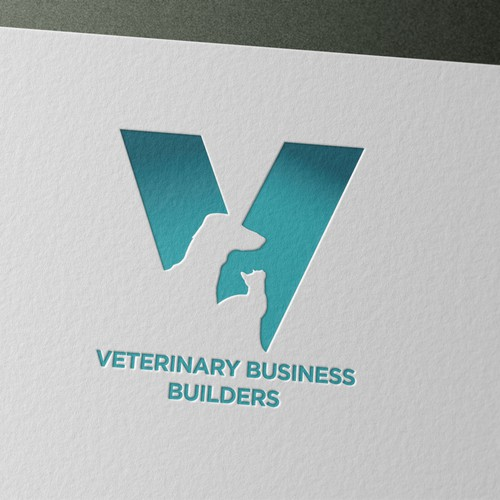 Bold logo for veteranerian business