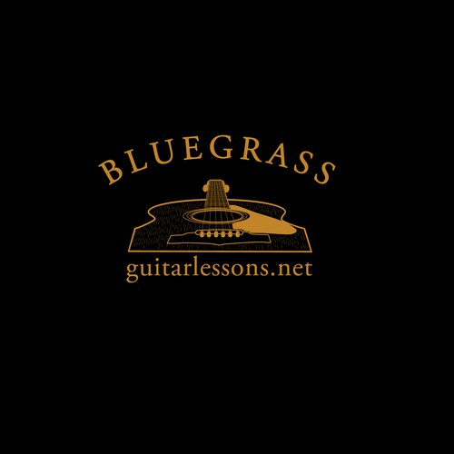 Logo for Bluegrass guitar lessons
