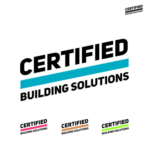 Certified Building Solutions Logo Design
