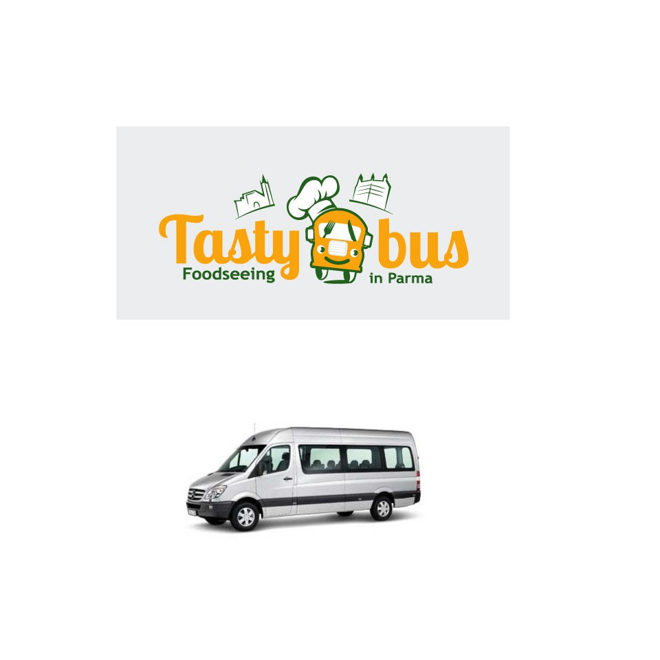 Create a lively LOGO that stands out from the crowd for TASTYBUS (foodseeing tour in Parma, Italy)