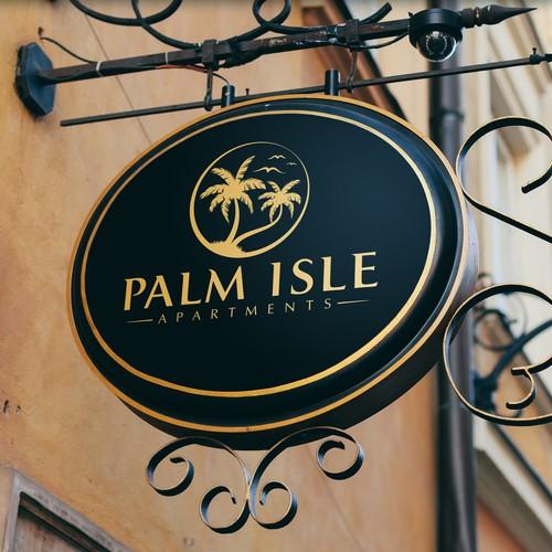 Logo for PALM ISLE
