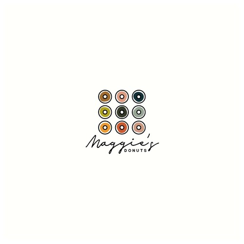 Logo Concept for Maggie's Donuts