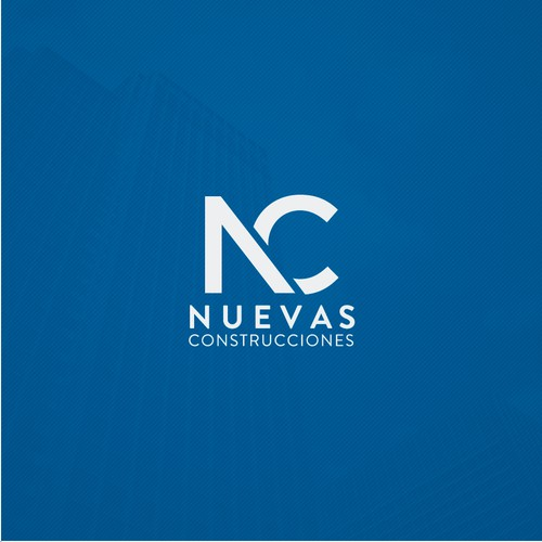 Logo for Nuevas Construcciones.