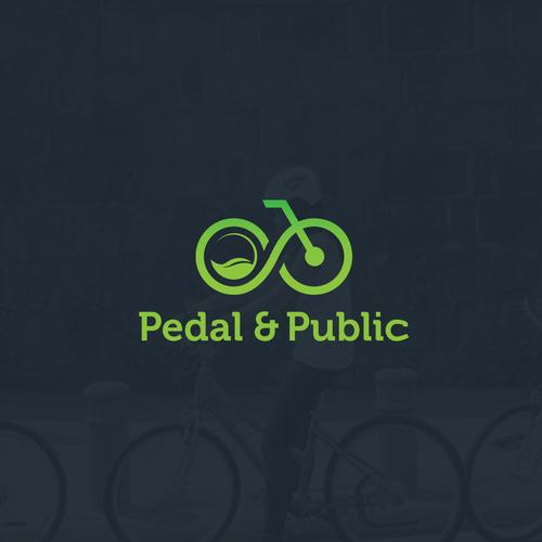 Eco-friendly Logo Design for Pedal & Public
