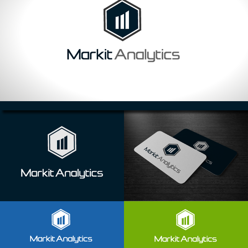 Create an engaging modern brand identity for Markit Analytics that will resonate with Marketers