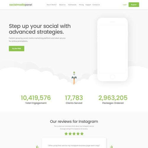 Service Website Design