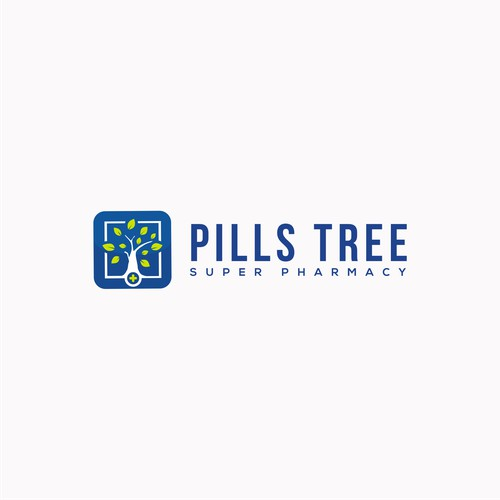 Logo Concept for PILLS TREE