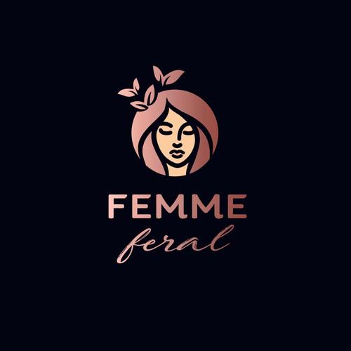 Woman logo concept