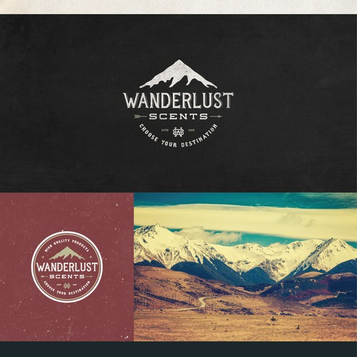 Wanderlust Scents Needs an Adventurous New Logo