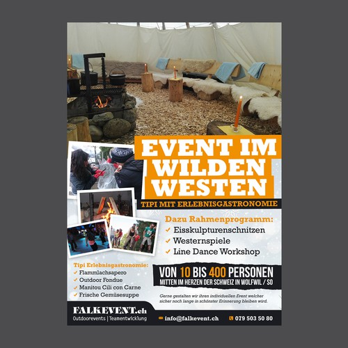 Falkevent flyer
