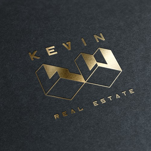 Bold logo concept for real estate group - Kevin Lu
