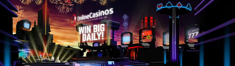 illustration of a casino world / land / theme park / virtual reality casino