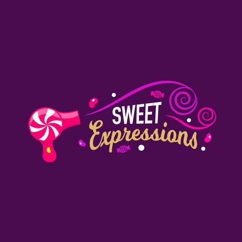 A Fun, Flirty Logo for a Blow Out Lounge