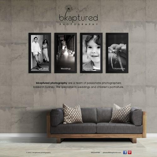 New website design wanted for bkaptured photography