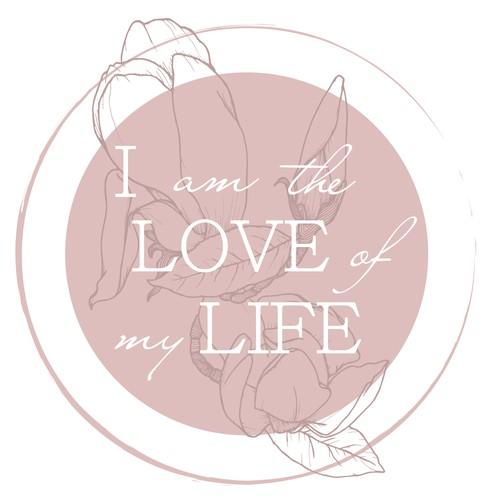 Feminine T-Shirt Design For Empowering Self-Love Quote