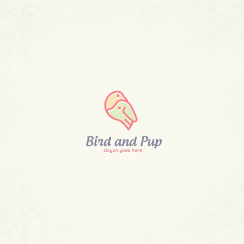 Logo for Bird and Pup