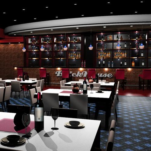 Interior Design for The BrickHouse Restaurant