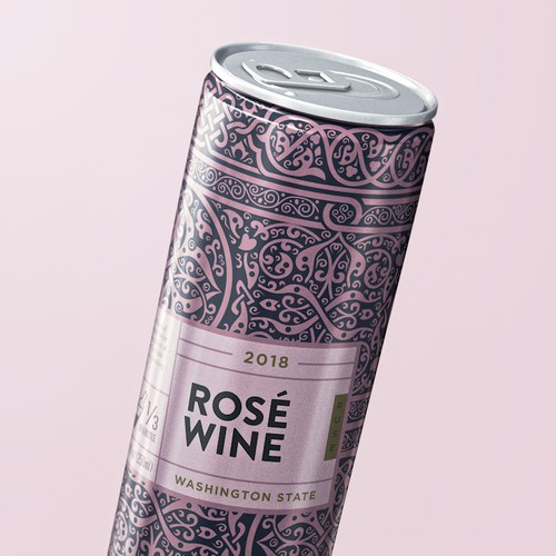 Rose In a can design