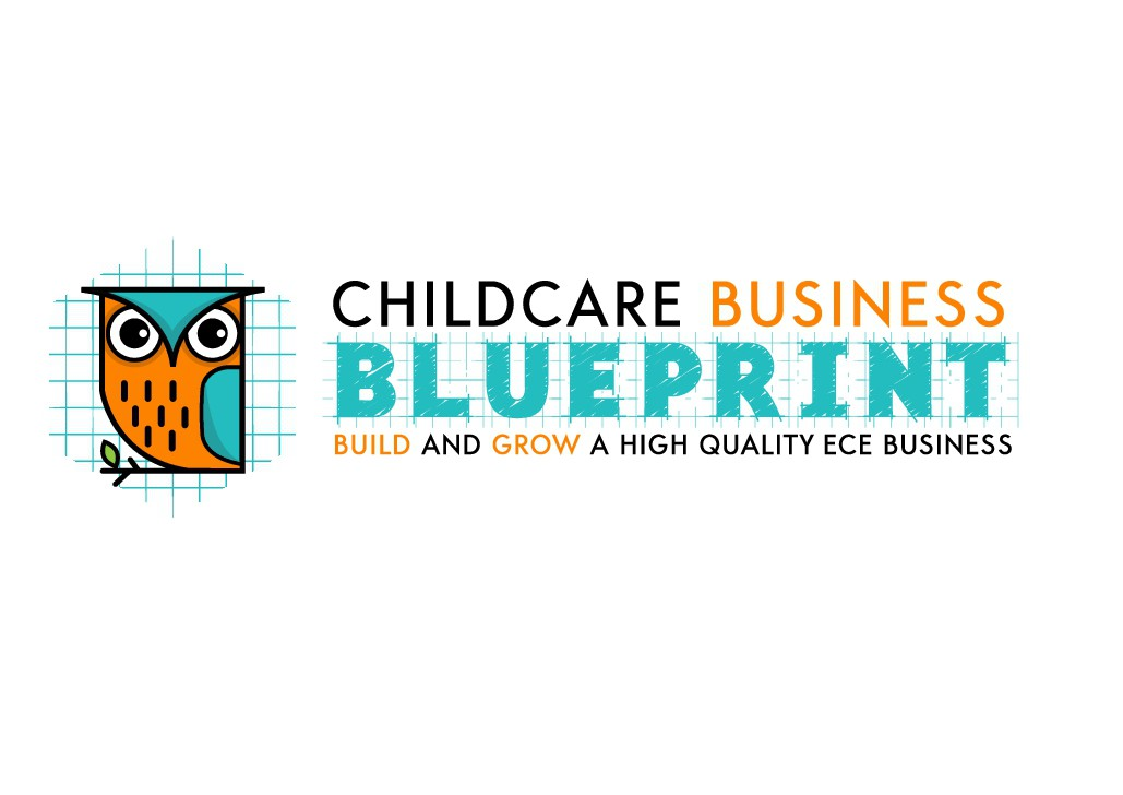 An eye catching logo for a unique childcare biz offering