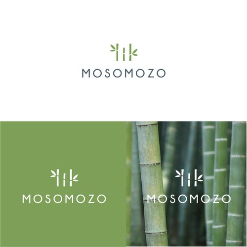 Logo for bamboo products