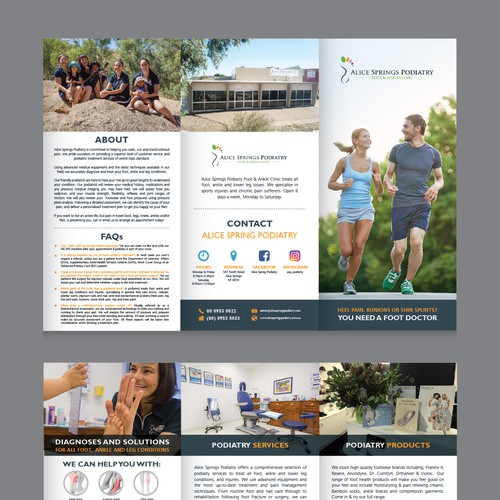 Alicespring Podiatry Brochure