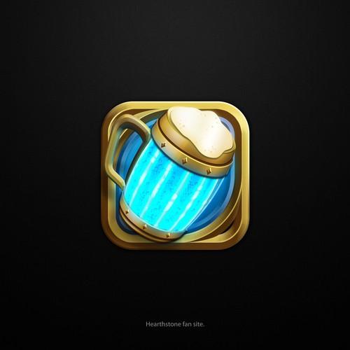 Hearthstone fun site Logo
