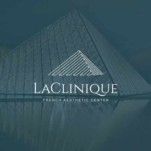 Bold logo concept for La Clinique