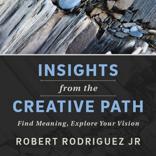 Create a cover for a motivational book about adding creativity, meaning, and personal vision to your photography.