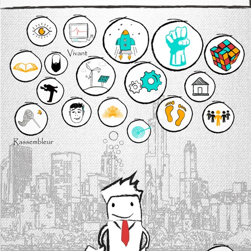 """Infographic """"Manager of the future"""""""