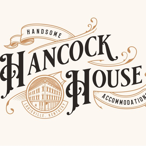 Vintage Logo for Hancock House