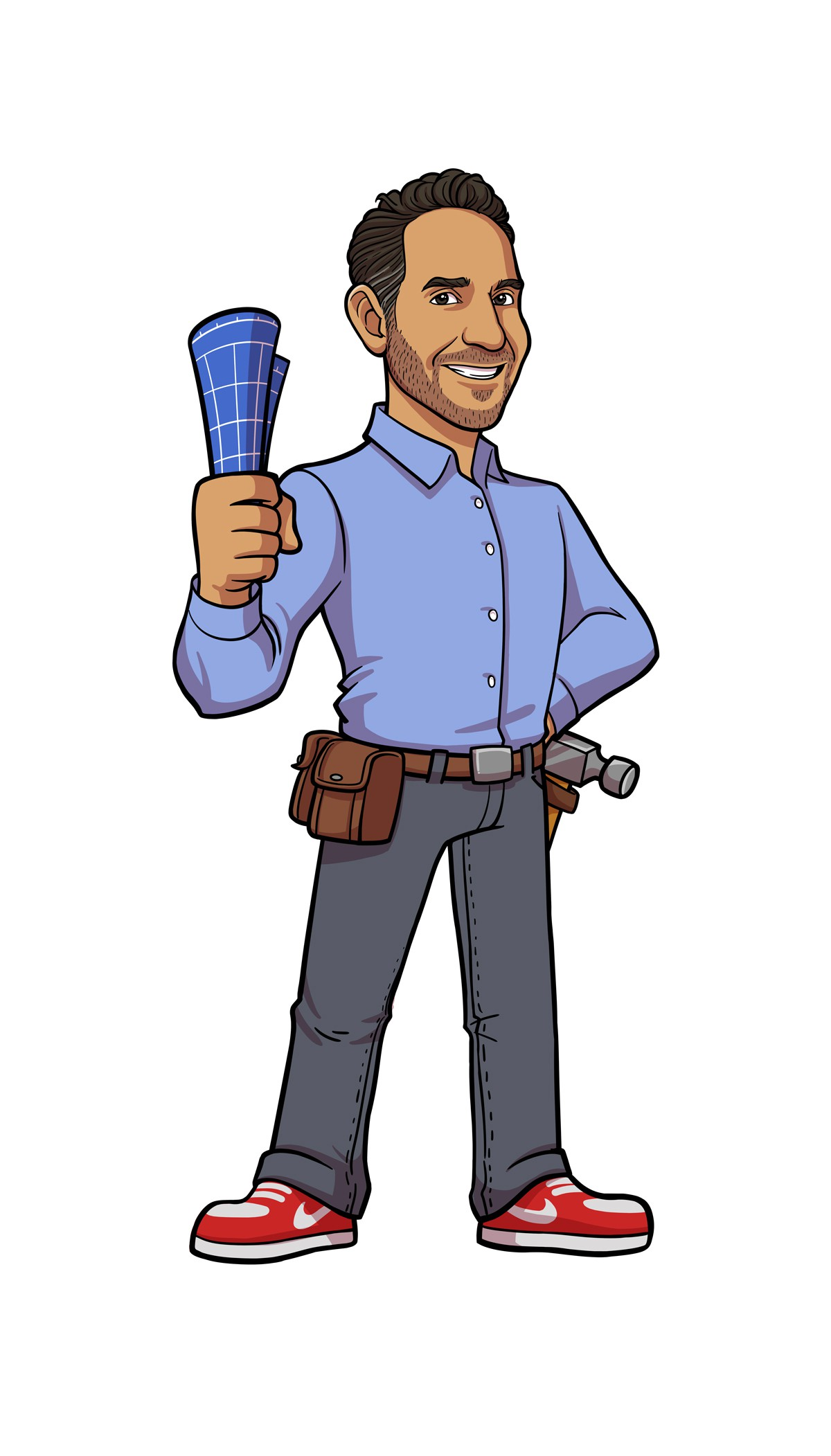 Hip Home Remodling Company wants a creative mascot design  AskDMac.com answering all there home improvement problems