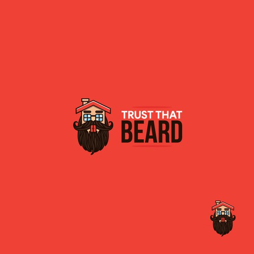 "Logo proposal for ""Trust That Beard"""