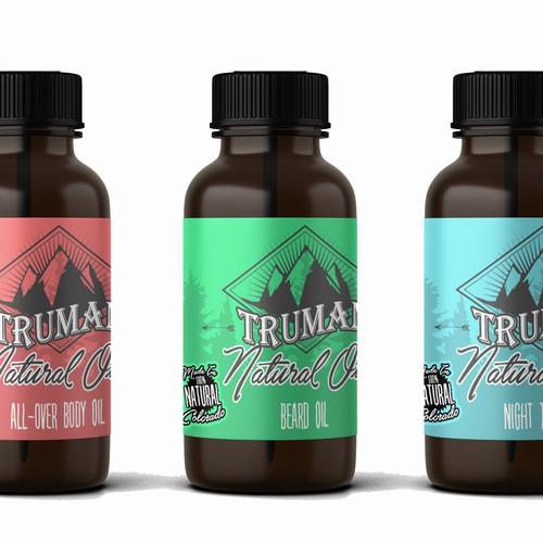 label for natural oils