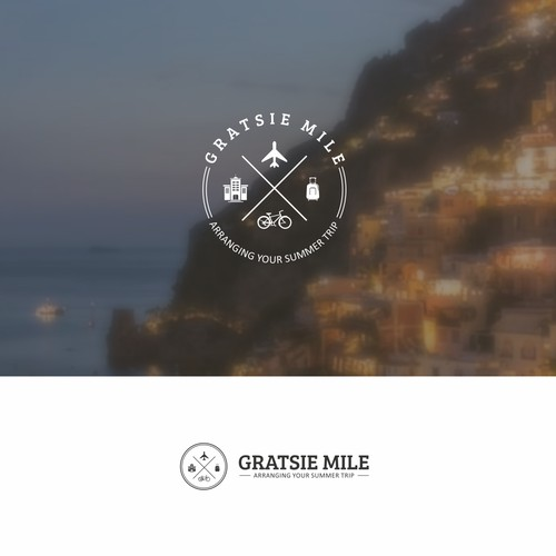 "Say ""Gratsie Mile"" (Thank you) after a memorable experience out of home in a logo"