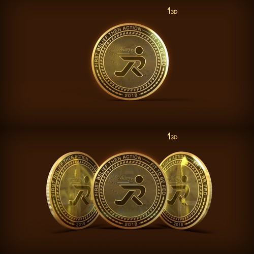 Run2Play 3D Coin