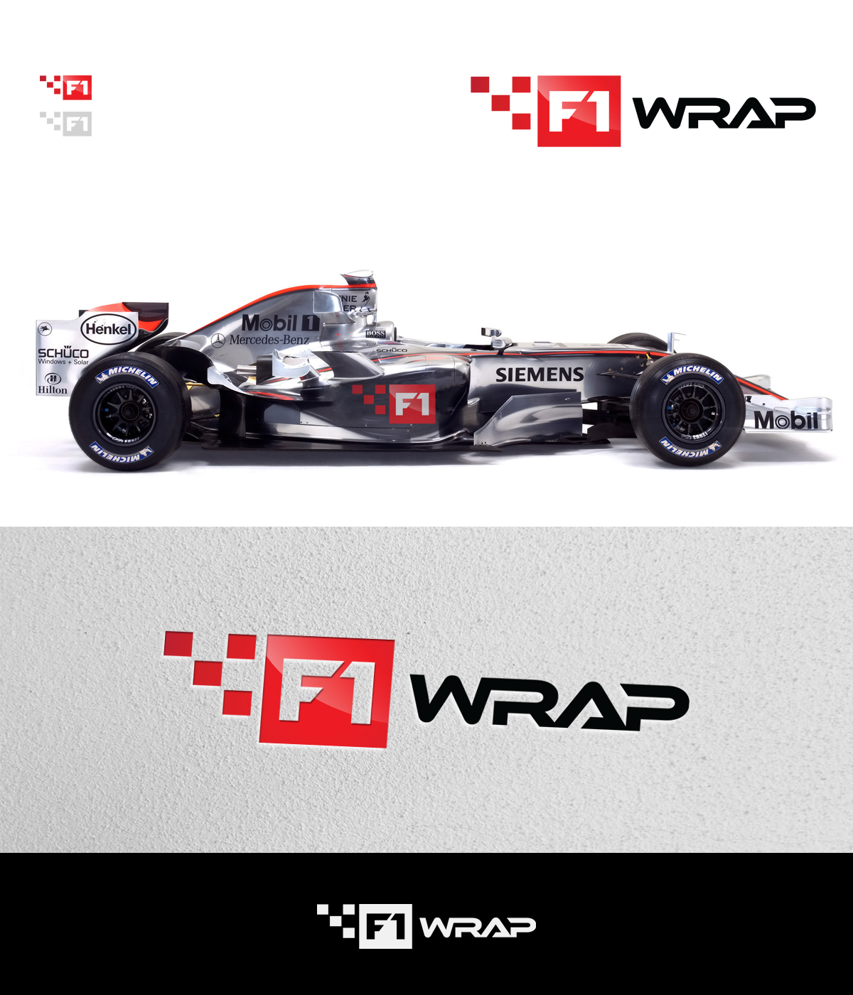 New logo wanted for F1 WRAP