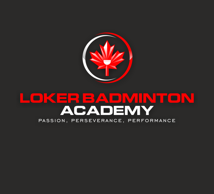 Create a capturing image for the Loker Badminton Academy - Performance athletes