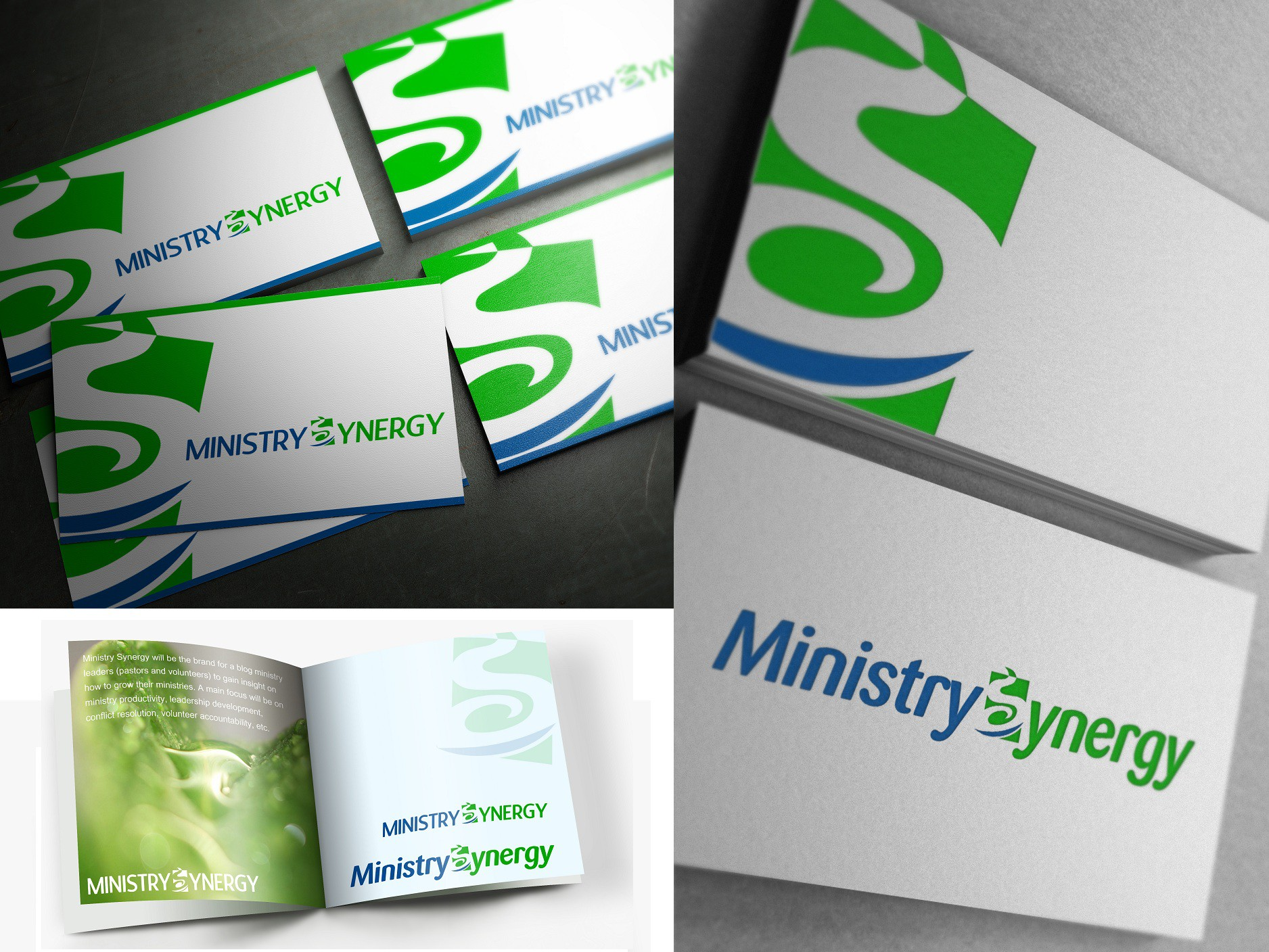 Create the next logo for Ministry Synergy