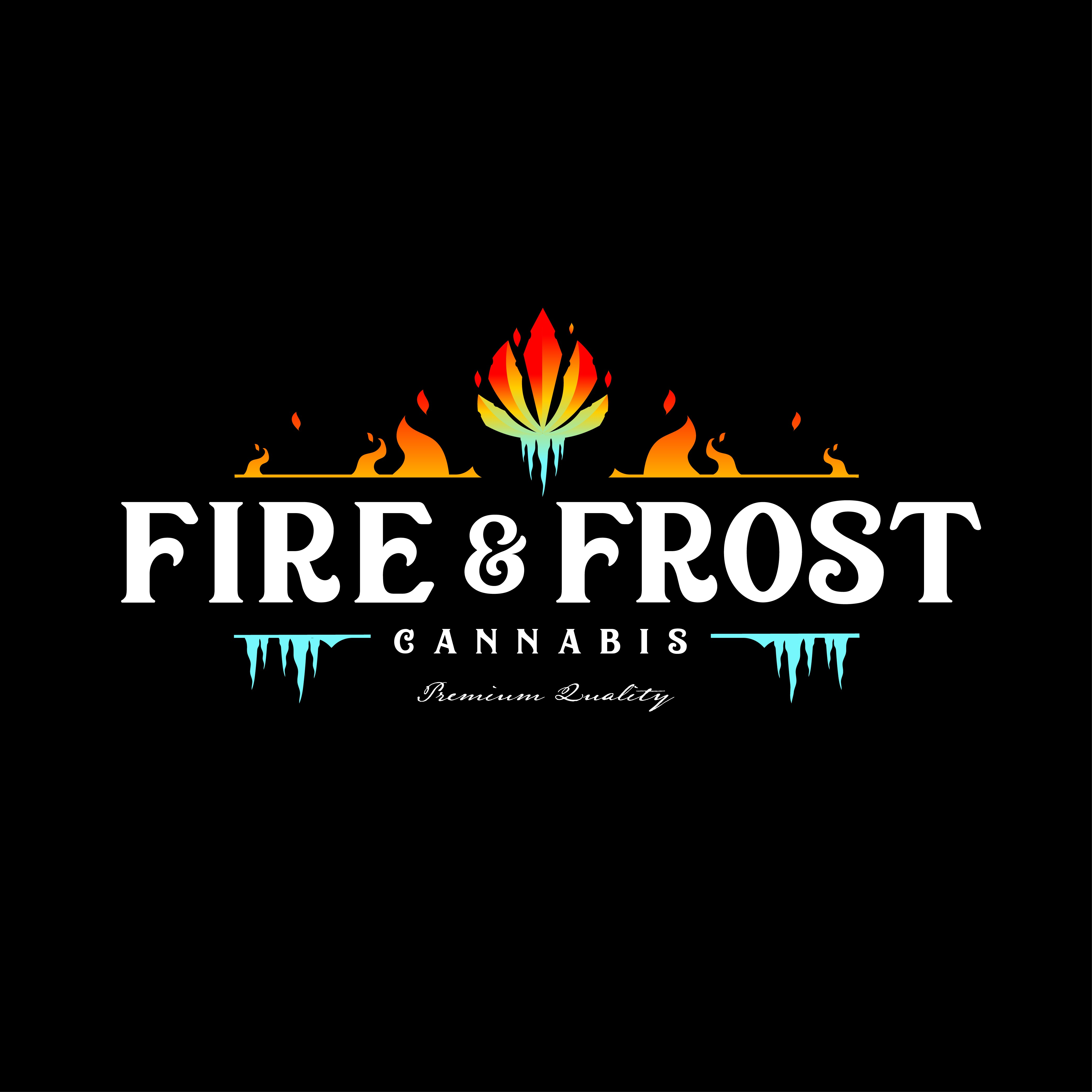 "Fresh ""Hipster Feel"" Logo Design for Fire and Frost Cannabis"