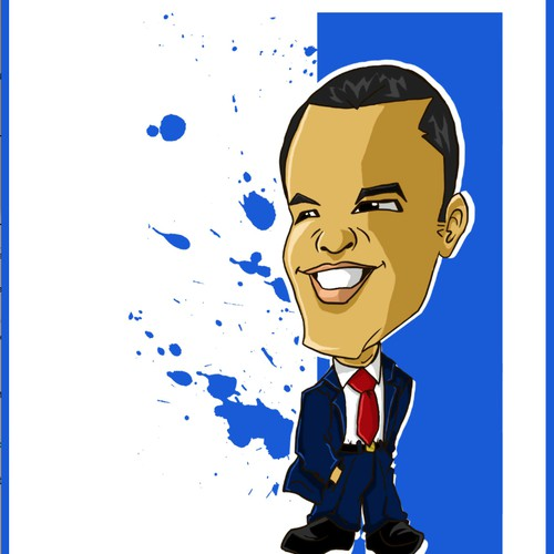 Business Man Caricature