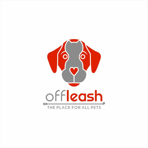 Logo concept for OFF LEASH