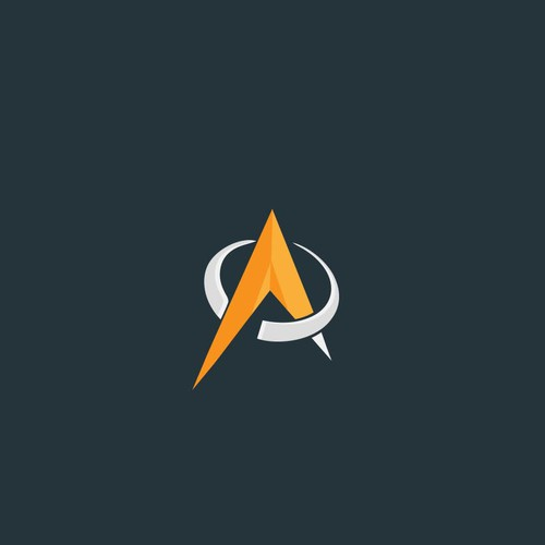 Logo concept for atomic research firm