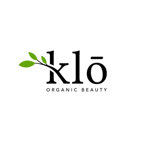 Klō Organic Beauty logo design
