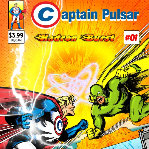Captain Pulsar First Edition Comic Concept