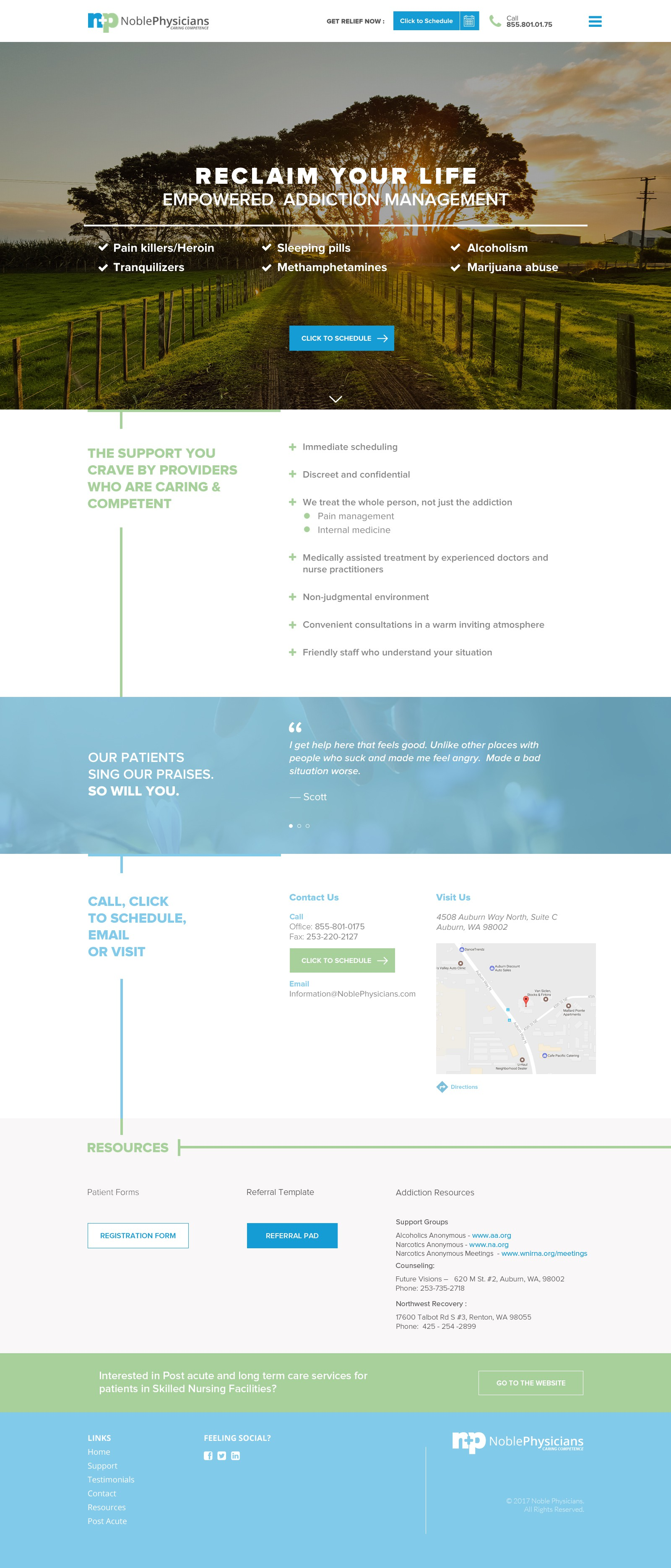 Noble Physicians second website