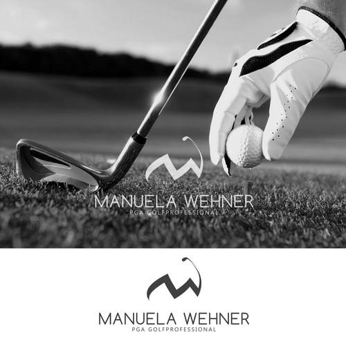 Logo for golf sport