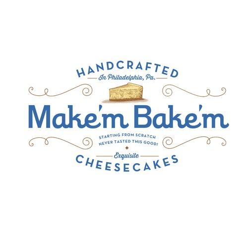 Make'm Bake'm Cheesecake Logo